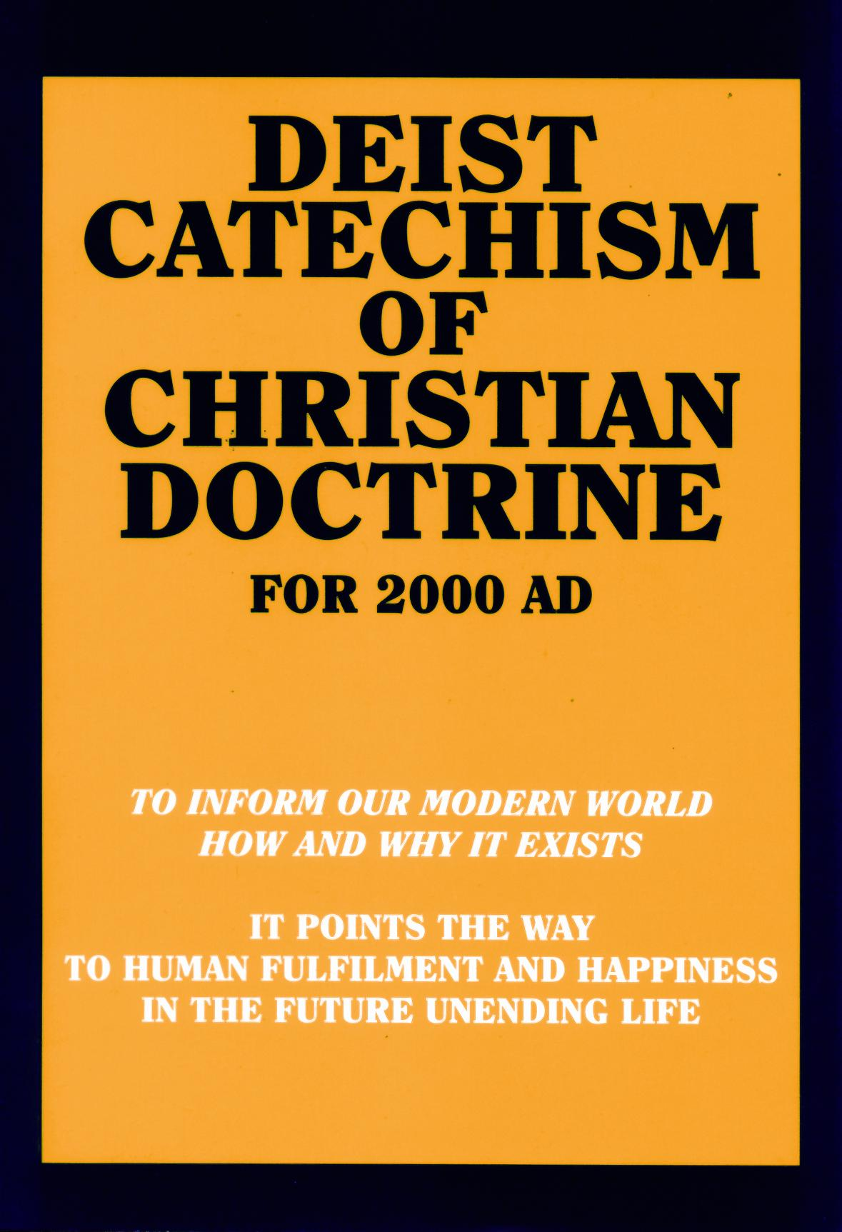 Deist Catechism of Christian Doctrine