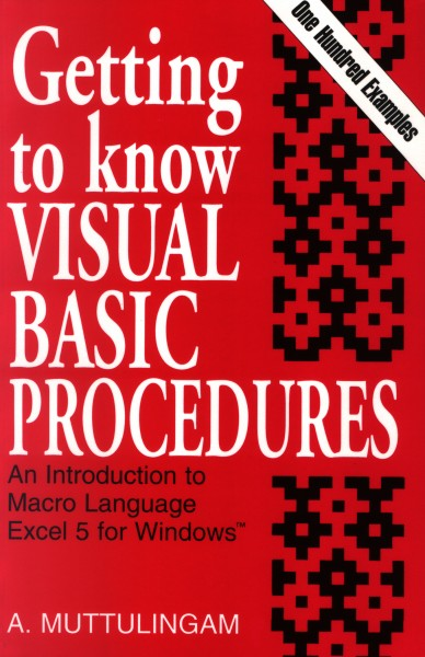 Getting to know Visual Basic Procedures